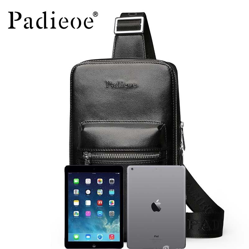 ФОТО 2017 new ipad fashion leather bag business men's Messenger bag luxury brand handbags men's leather chest pocket purse