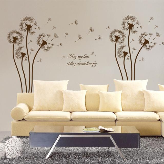 Lovely Dandelion Wall Sticker