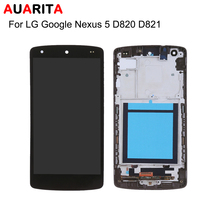 1pcs Lcd For LG Google Nexus 5 D820 D821 LCD Display Touch Screen Digitizer Assembly With
