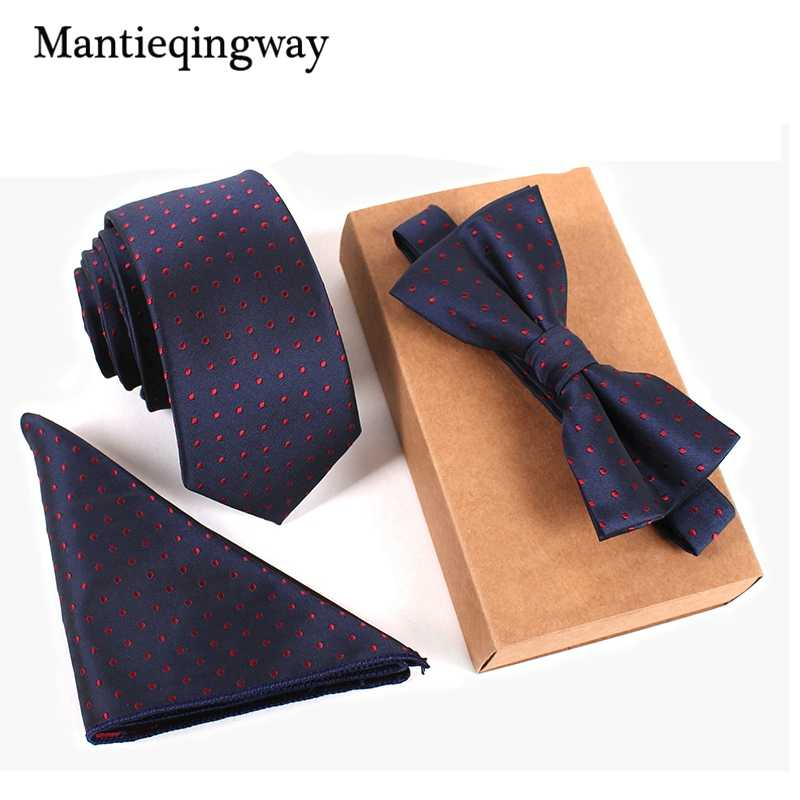 Mantieqingway мужские брендовые Цветочные Галстуки галстук-бабочка набор носовых платков плед свадебные, для жениха галстук Gravatas Vestidos Карманный квадратный