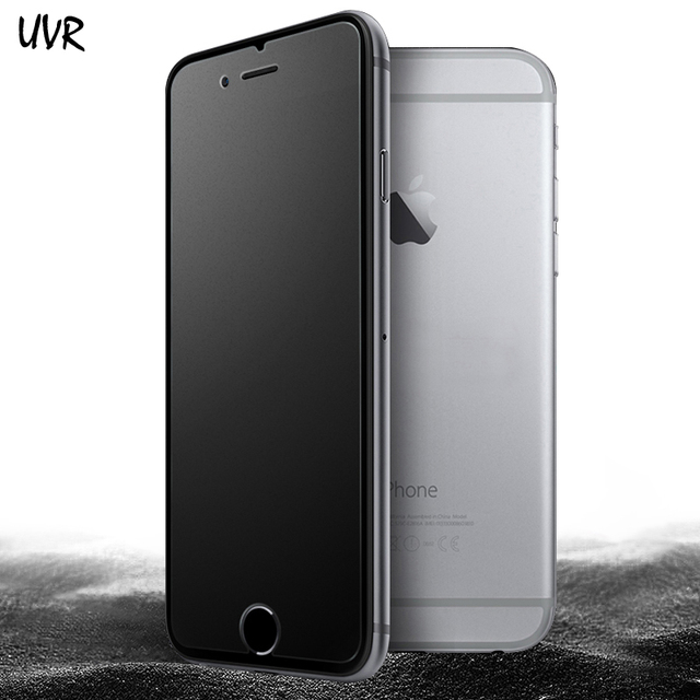 UVR Matte Frosted Tempered Glass for iPhone 6 6S 7 8 Plus Screen Protector Super 9H Protective Glass for iPhone6 s iPone 6 8Plus