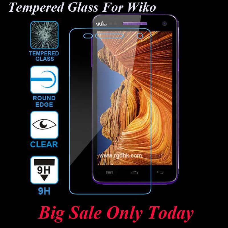 GerTong Gehard Glas Voor Wiko Pulp Fab 4G Koorts Regenboog Lite UP zonsondergang 2 Selfy 4G Lenny 2 3 Screen Protector Robby Cover Film
