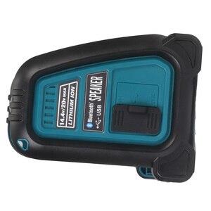 Image 2 - Altavoz MP3 con Bluetooth y batería de ion de litio, amplificador de altavoz, 15W, para Dewalt, Makita, Bosch, Milwaukee, 14,4 V, 18V
