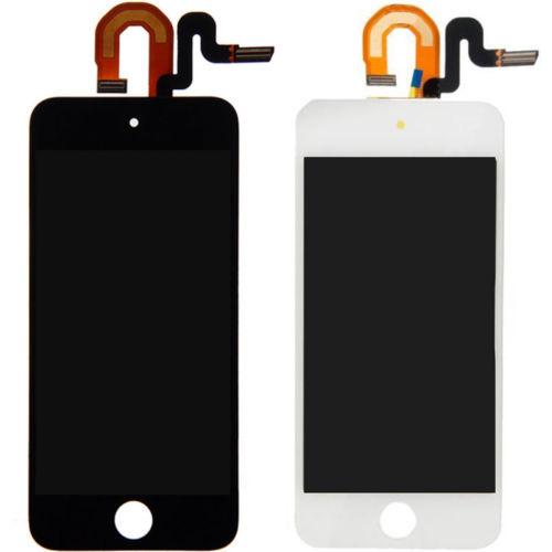 LCD Tampilan + Sentuh Layar Digitizer untuk Apple IPod 5 5th LCD + TP Hitam/Putih (Bebas + 3 M Tape + Membuka Alat Perbaikan + Lem)