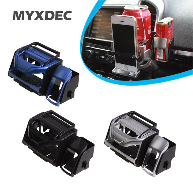 Universal Car Outlet Water Cup Holder Plastic Drink Holder Air Conditioning Outlet Cup Vehicle holder Car Accessories Styling