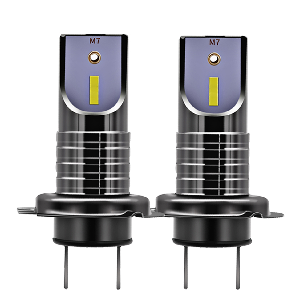 Car Lights H7 Led Headlight 55w 10000lm Replace Ha-logen/xid Headlight Bulb Csp Chip Fog Lamps Pure White 6000k Car Headlight Bulb 12v