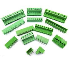 50Sets 2EDG 5.08 2P 3P 4P 5P 6P 7P 8P 9P 10P 12P 14P 16P 2EDG 2EDGV 5.08mm Plug in Screw Terminal Block Resistor Free Shipping