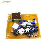 NX 03 headphone power amplifier Clone RudiStor NX03 DIY Kit with two gold plated headphone jack
