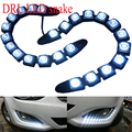 2pcs/12LED New 2013 Silver Chorme Snake Eye Daytime Running light DRL for Chevrolet Malibu
