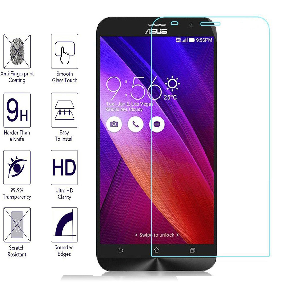 026mm Tempered Glass For Asus Asus Zenfone 2 3 ILS Laser