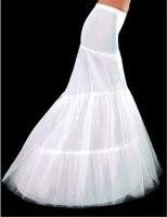 2015 Free Shipping In Stock 2 Hoops Mermaid Petticoat Crinoline For Mermaid Wedding Dress Slip Good