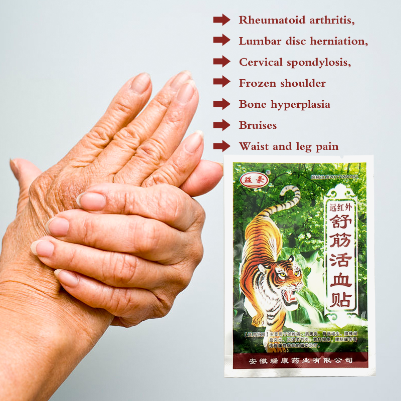 Tiger Blam Arthritis Joint Pain Rheumatism Shoulder Patch Knee/Neck/Back Orthopedic Plaster Pain Relief Stickers