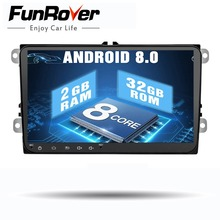9″ 8 cores Android 8.0 2 din Car DVD Player for vw passat b5 b6 golf 5 6 polo tiguan Car Multimedia Player Radio Gps Stereo navi