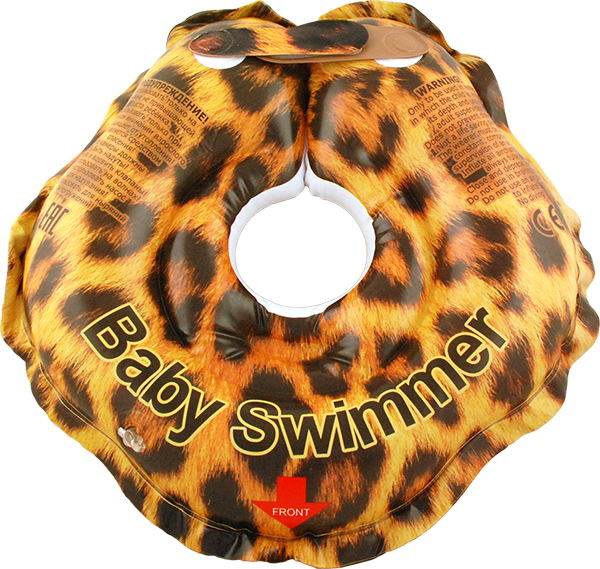 Children's neck swimming ring Baby Swimmer BS01T inflatable children swimming ring seat pool floating boat