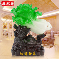 2016 Top Fashion Rushed Property Return Chinese Cabbage Home Furnishing Living Room Decoration Dragon Transport Equipment