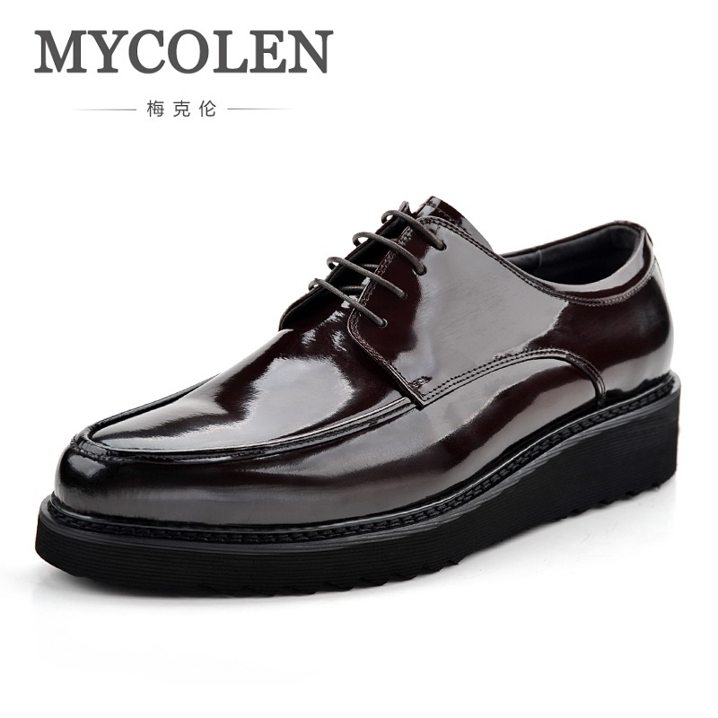 MYCOLEN New Arrivals High Quality derby Shoes Lace-Up Business Dress Shoes Durable Male Formal Luxury Designer Shoes Zapatos mycolen the new listing high quality genuine leather shoes men lace up business men shoes male formal dress shoes derby homme