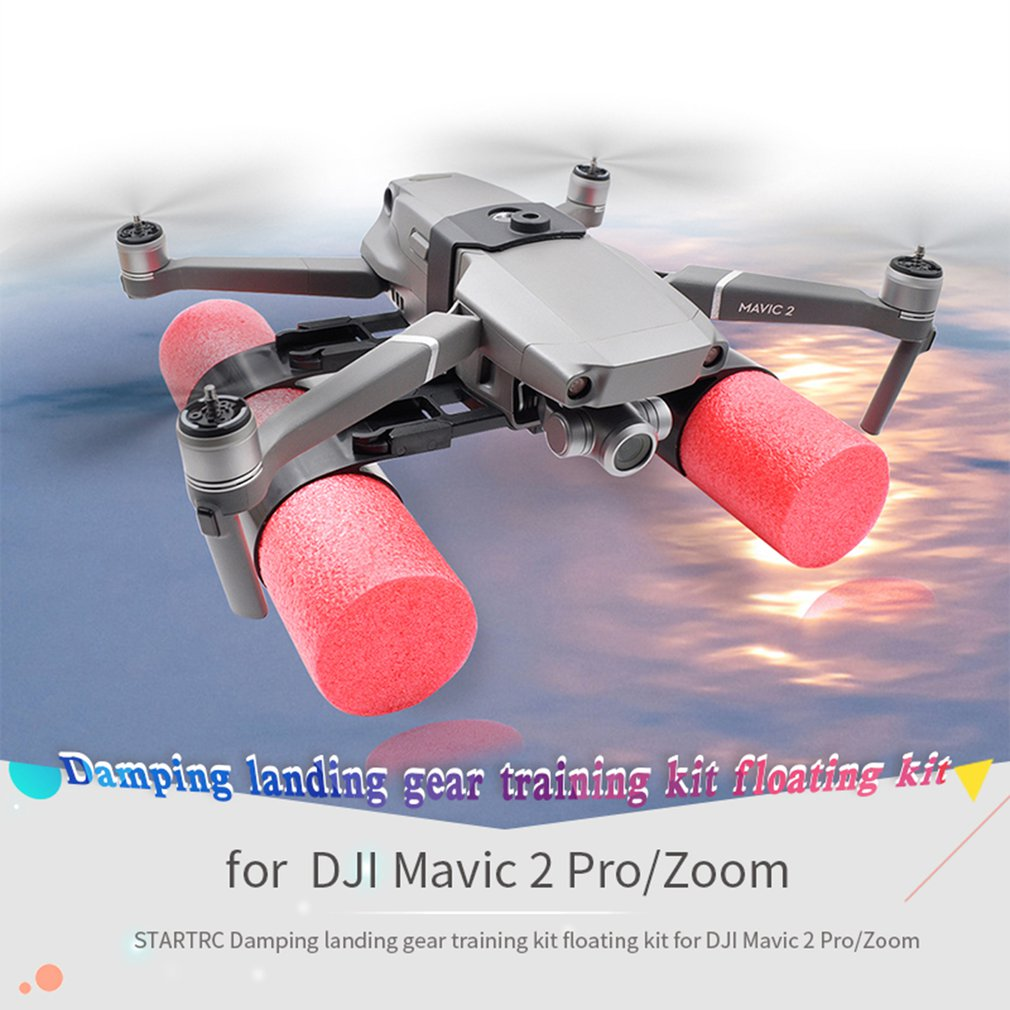 Landing Skid Float kit Extended Landing Gear Training Kit Buoyancy Bar Set Can Floating For For DJI Mavic 2 pro/zoom Vibration Dampers     - title=