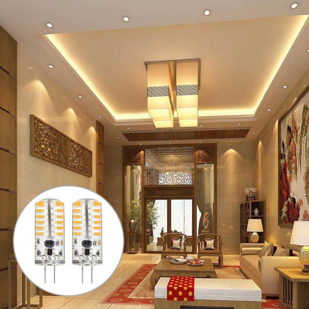 G4 1W 2W 3W LED Light Lamps DC 12V Equivalent to 20W 25W T3 Halogen Track Bulb Replacement LED Bulbs LED Corn Bulb Light 10PACK in LED Bulbs Tubes from Lights Lighting