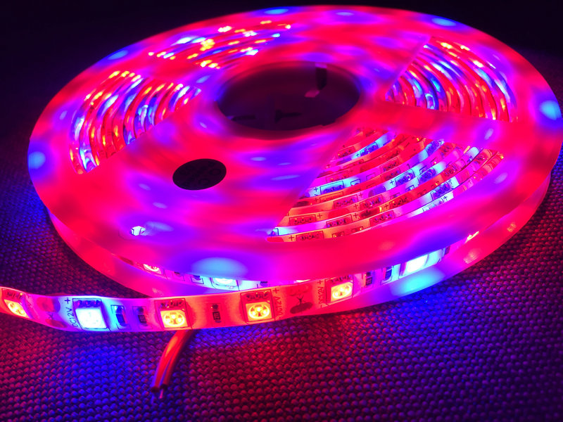 5M 16.4ft 12v SMD RGB 5050 IP65 Waterproof 300 LED Truck Boat Strip Light Lamp