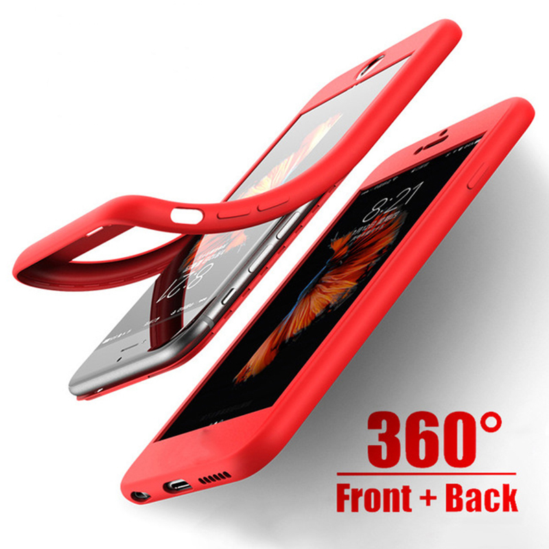 <font><b>360</b></font> Silicone Full <font><b>Case</b></font> For <font><b>Samsung</b></font> Galaxy J4Plus J6 J8 A7 A8 A6 2018 S8 S9 S10 Plus S10E S7Edge A10 A30 A40 A70 M20 M30 <font><b>Note9</b></font> image
