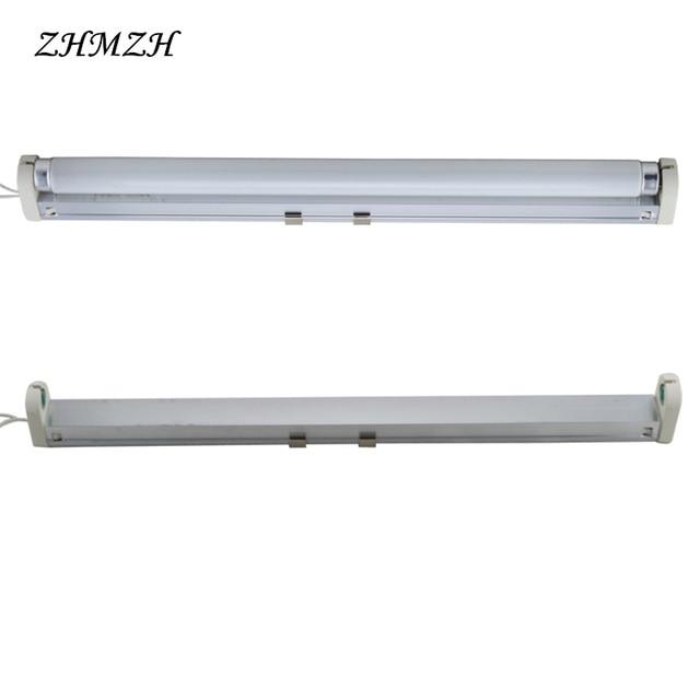 220V T8 Fluorescent Lamp Tube And Lamp Holder 10W 15W Energy Saving ...