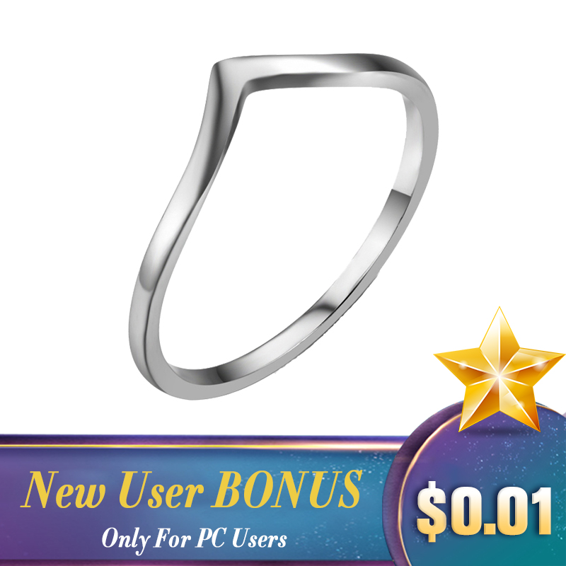 LicLiz Simple 925 Sterling Silver Triangle Rings For Women Finger Geometric Ring Bague Initial Letter V Shape Ring Band LR0470LicLiz Simple 925 Sterling Silver Triangle Rings For Women Finger Geometric Ring Bague Initial Letter V Shape Ring Band LR0470