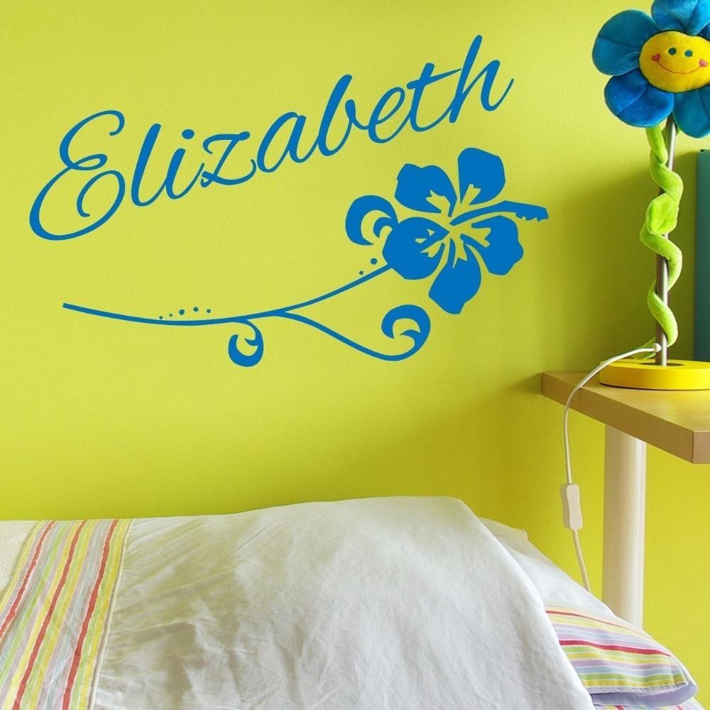 Online Get Cheap Hibiscus Wall Decals Aliexpresscom Alibaba Group - Custom vinyl wall decals cheap