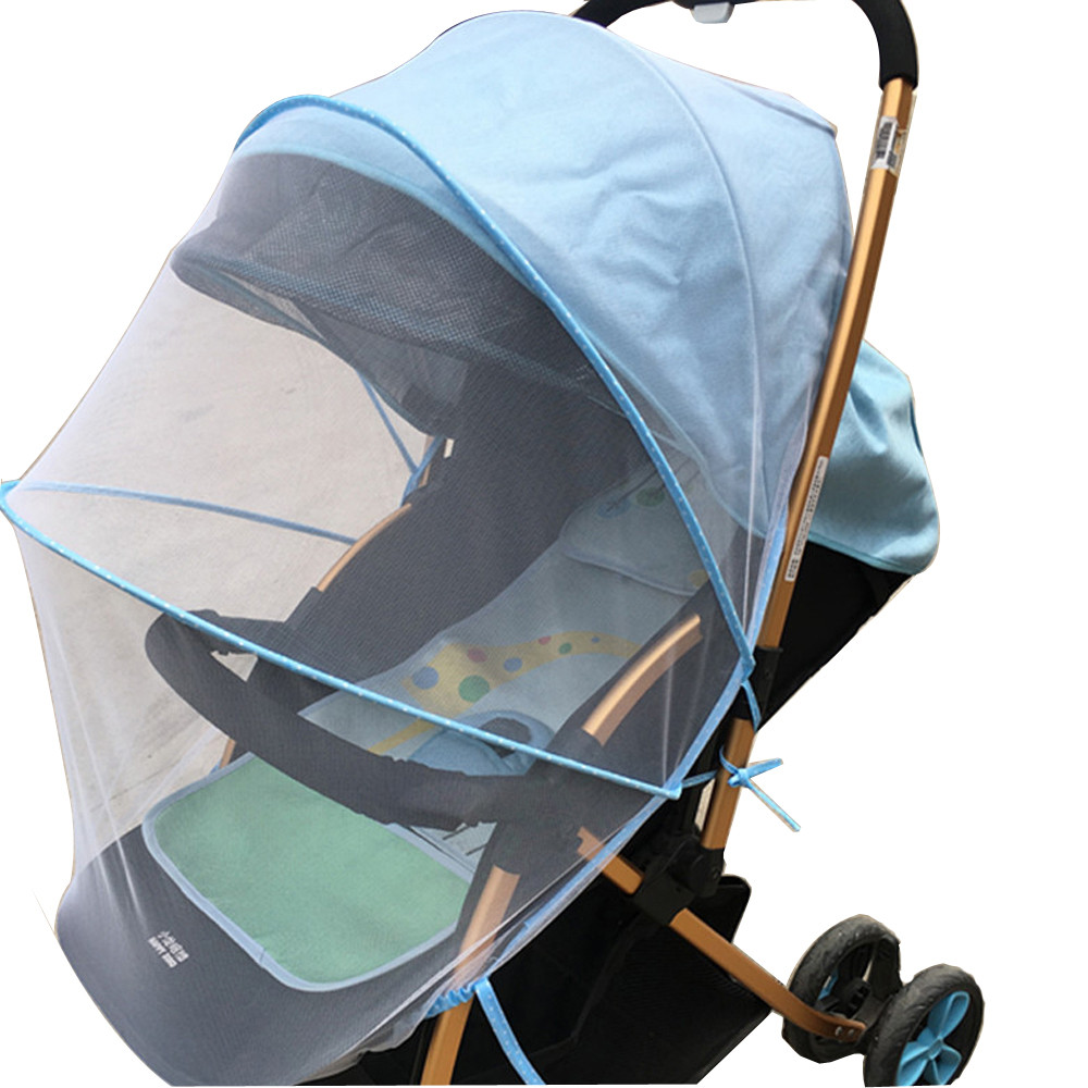 Stroller Mesh Cover Us 2 89 42 Off Baby Stroller Pushchair Mosquito Net Full Insect Cover Carriage Kid Foldable Kids Netting Safe Mesh Buggy Crib Netting Cart In