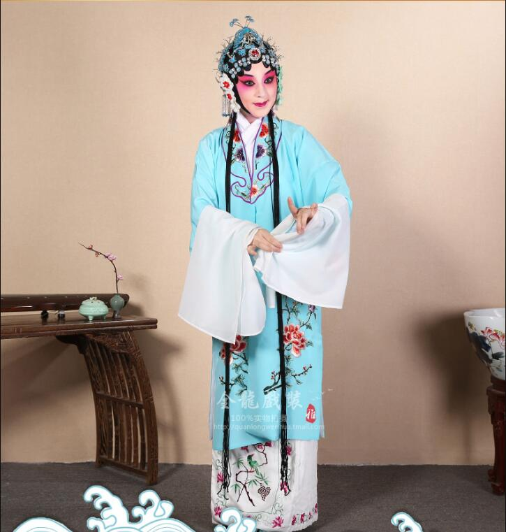 Beijing Opera Drama Costume Peking Opera Tsing Yi