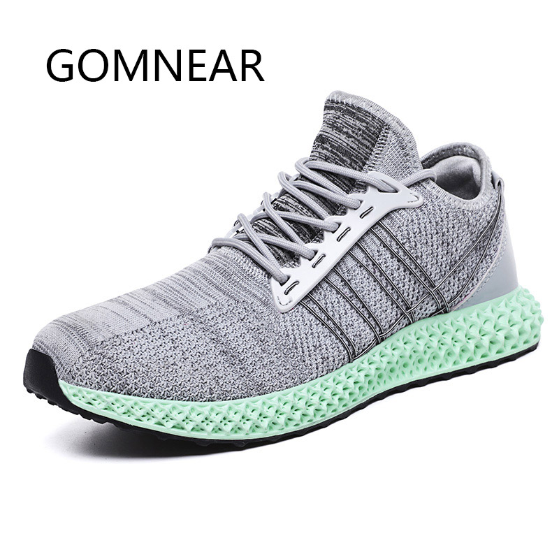 Underwear & Sleepwears Gomnear 2019 Breathable Mesh Running Shoes Men Sneakers Light Running Shoes Trainers Sport Shoes Athletic Walking Jogging Shoe Possessing Chinese Flavors