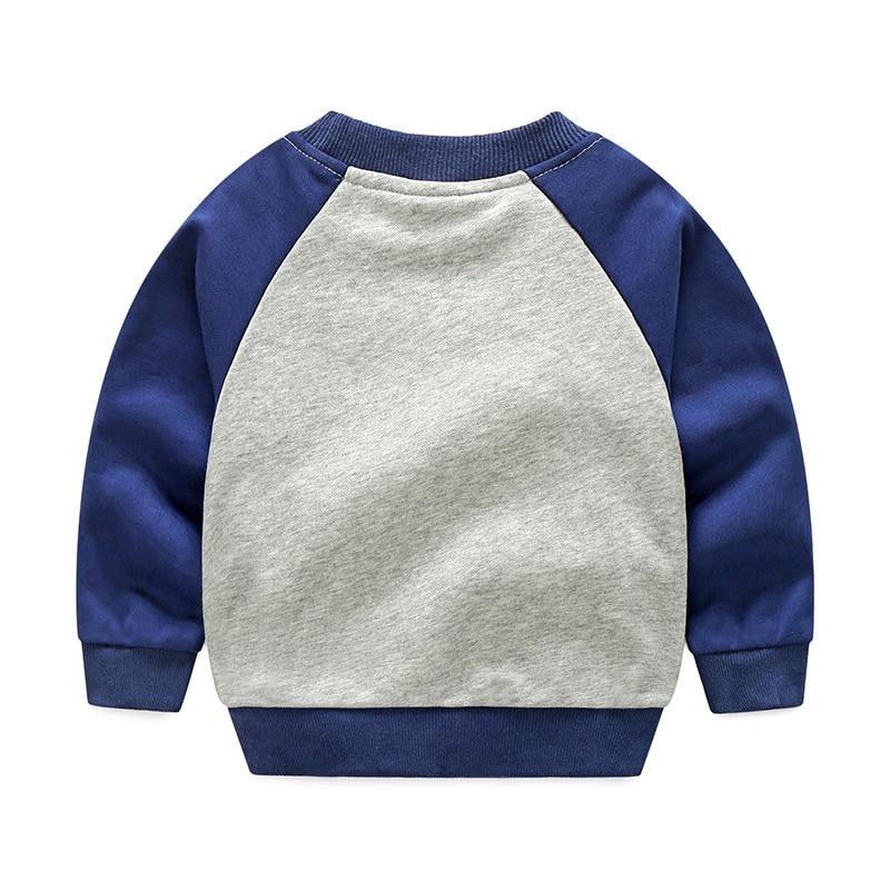 V-TREE 2018 Весенние футболки для мальчиков мультфильм космический ребенка футболка для детей топы для девочек От 2 до 8 лет детские детская одеж...