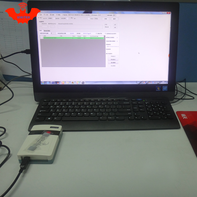 Cititor UHF RFID cu rază scurtă de citire integrată Port USB usb - Securitate și protecție - Fotografie 3