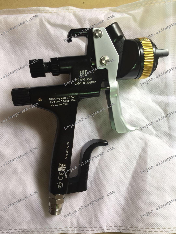 CCE Noir Édition Limitée 5000B HVLP PHASER Pulvérisation Gun-1.3 Noz w/t tasse pour Voiture, Porsche Design Peint pulvérisateur pistolet