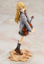 one piece 20cm your lie in april cartoon doll PVC box-packed japanese figurine world anime action figure brinquedos toy for kids