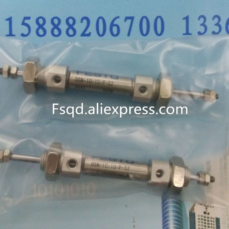 DSN-10-10-P-S2 FESTO Stainless steel mini-cylinder air cylinder pneumatic air tools DSN series iphuck 10