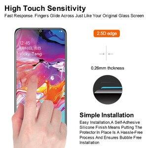 Image 3 - מזג זכוכית עבור Samsung Galaxy A70 מסך מגן 2.5D 9 שעתי מזג זכוכית עבור Samsung A70 SM A705F/DS A7050 מגן סרט