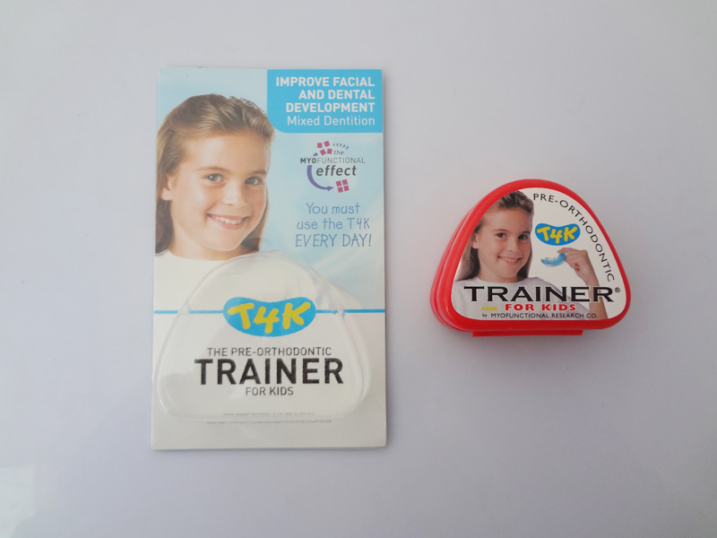 Dental Orthodontic Teeth Trainer Appliance T4K /MRC Orthodontic Braces T4K for teeth crowding/T4K Trainer for 6-12 ages t4k teeth orthodontic trainer made in australia phase 2 red color