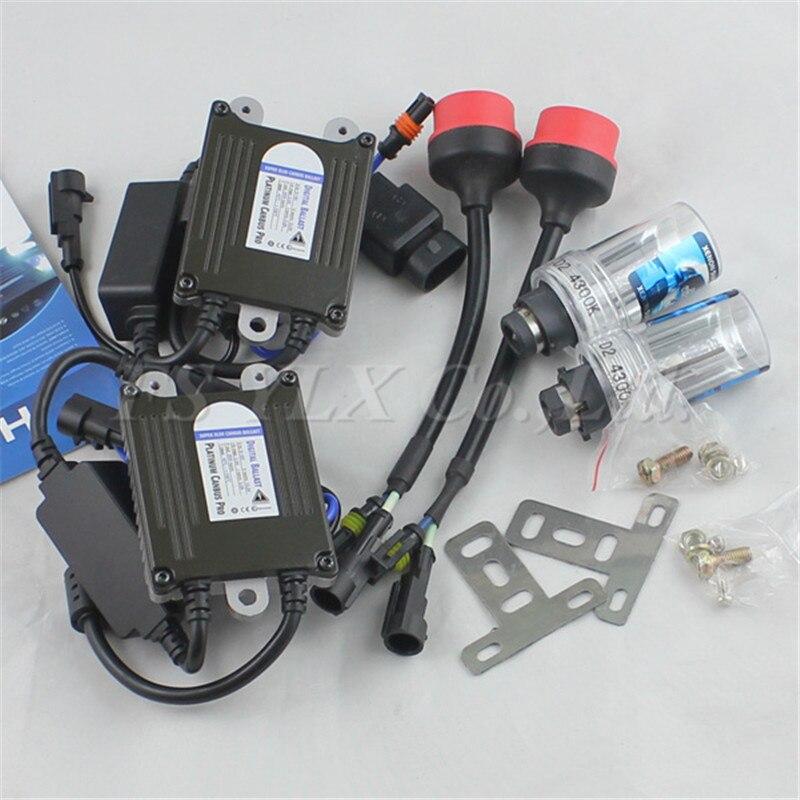 ФОТО D2S 35W canbus Xenon HID kit D D2 D2S hid kit 4300K 6000K 8000K HID headlight kit error free D2S hid kit