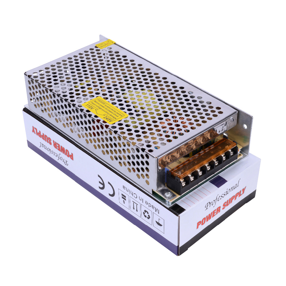 YiiSPO Hot Selling 12V 10A Switching Power Supply 120W Adapter 12V LED Strip Transformer Wholesale From Factory Free Shipping