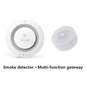 Image 5 - Original Xiaomi Mijia Honeywell Feuer Alarm Detektor Akustische Und Visuelle Alarm Arbeit Mit Gateway Rauchmelder Smart Home Remote