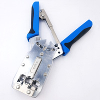 TL 2810R Multifunctional network crimping tool pliers for Crimp Cat6 RJ12 RJ45 RJ11(8P8C 6P6C 6P4C)