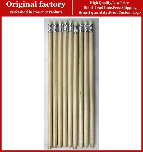 Us 1580 Cheap Bulk Natural Wooden Golf Pencil With Eraser Natural Wood Pencils Custom Pencil In Stock In Standard Pencils From Office School