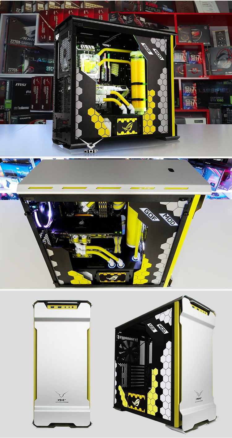 Cpu I9 7900x Ram 32g Ssd 500gb Desktop Computer Pc With Water Gt Enclosures Panels Boards Electrical Boxes Cooling Case Box Enclosure In Desktops From Office On Alibaba