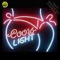 NEON ZEICHEN für Neue Coors Licht Bikini Mädchen GLAS Rohr Licht Zeichen Shop Display Handwerk Design Ikonische Zeichen Bier Bar pub Zeichen-in Neonröhren & Röhren aus Licht & Beleuchtung bei
