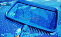 1pcs free shipping Sauna spa pool cleaner deep rake bag skimmer ABS frame and handle with nylon net