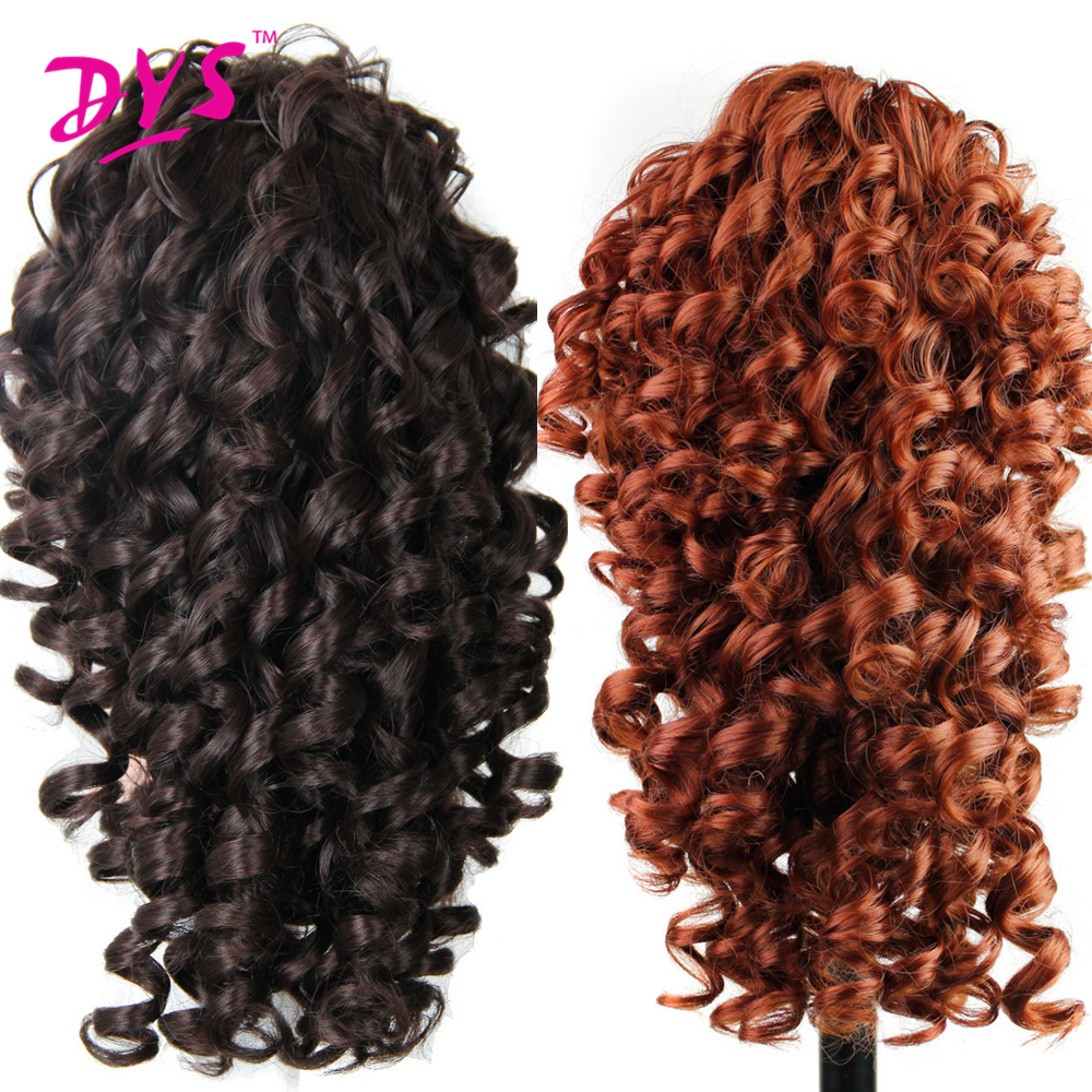 Deyngs 20inch Kinky Curly Claw i Ponytail Hair Extensions Fake Hair - Syntetiskt hår - Foto 2