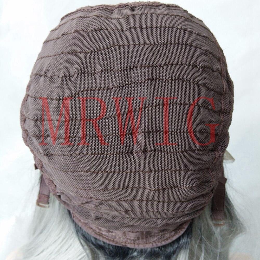 MRWIG κοντή bob ευθεία 1b # ombre μπορντό 12inch - Συνθετικά μαλλιά - Φωτογραφία 5