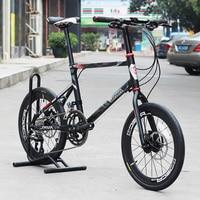 JAVA LIMIITED CL20 Bike 20 Wheel 18 Speed Disc Brake Uniex High Quality UrbanBicycle