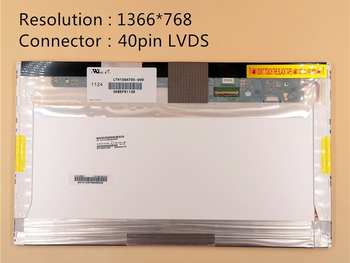 """15.6"""" LED Display For Lenovo E520 E525 E530 E535 E545 Y570 B590 G505 G510 Z560 1360X768 40Pin Replacement"""