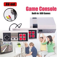 5 50 шт. Classic Mini ТВ игровой консоли Ретро игровой консоли 8 бит с 620 различных Встроенные игры для Nes